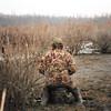 Brandon on the Verdigris River.<br /> (photo by Joe Edwards)