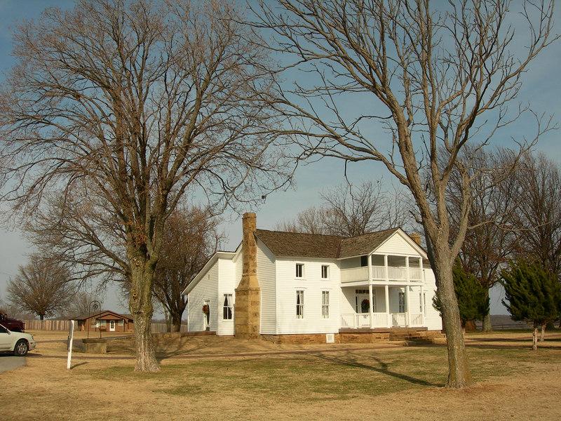 Will Rogers' boyhood home.