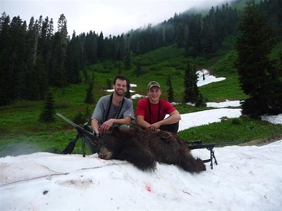 2011 Washington Opening Day black bear