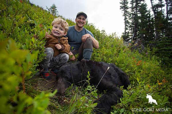 2019 Washington Fall Bear w/ 4 year old