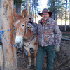 Me and my buddy Talula she was a great Mule!
