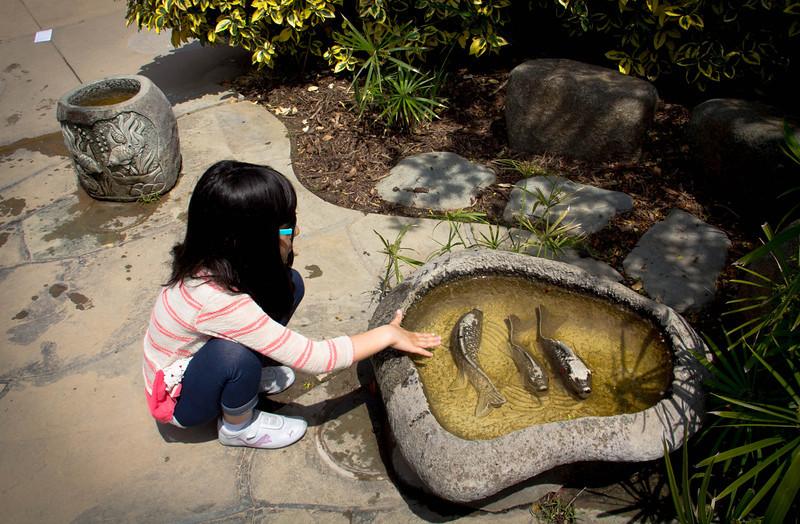 Angela in the Children's Garden