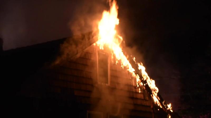 Huntington Manor House Fire- Paul Mazza