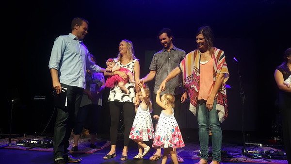 Child Dedication - September - 2016