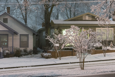 2014 Snow at night