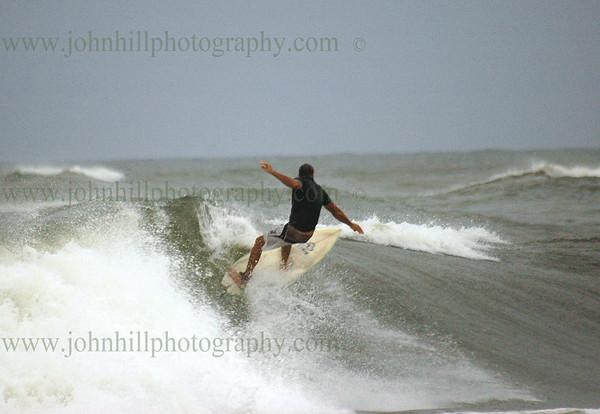 Hurricane Gustav Surfing at The Jetties