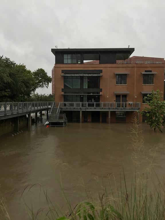 . Due to the flooding in Houston what was once a busy city has become a watery ghost town. Bill Jarvis For The Macomb Daily