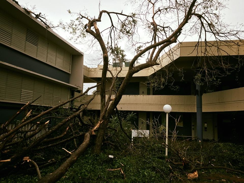 Hurricane Maria Damage
