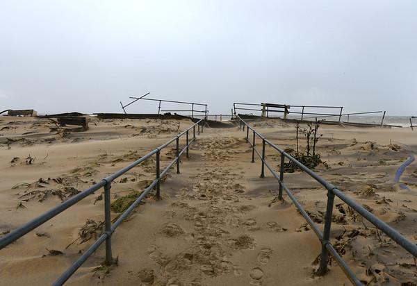 Sea Girt Boardwalk, October 30, 2012