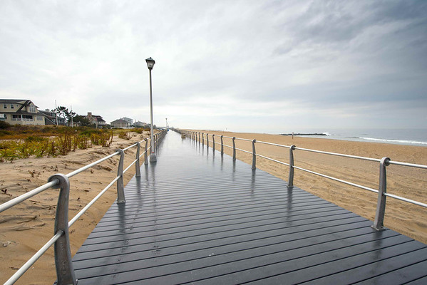 Sea Girt Boardwalk, 1 Year After The Storm