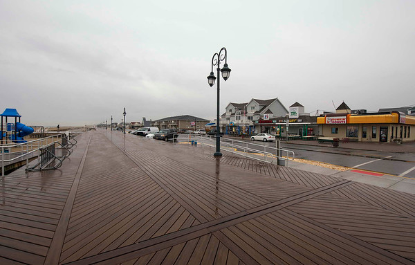 Belmar Boardwalk, 1 Year After The Storm