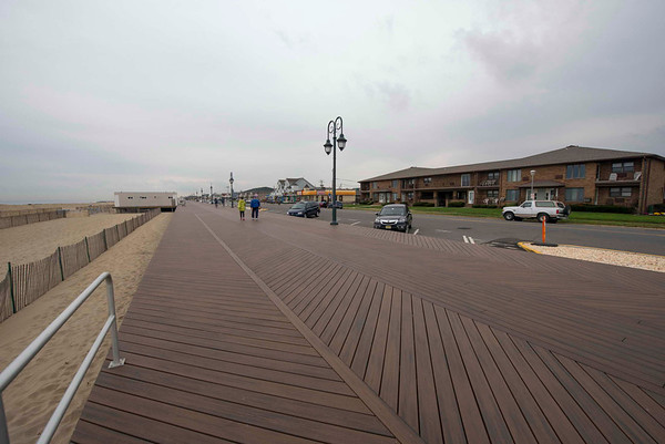 Belmar Boardwalk, 1 Year After the Storm