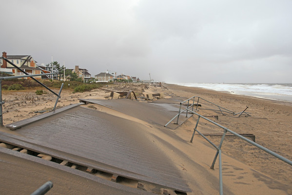 Sea Girt Boardwalk, October 30, 2012