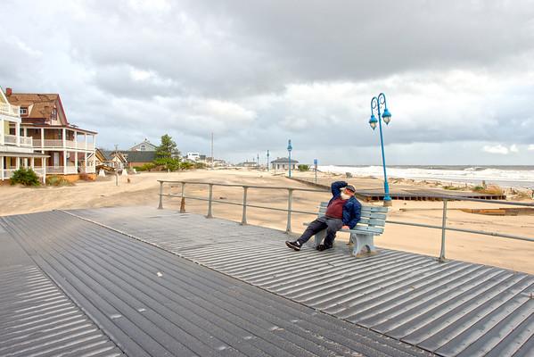 Belmar Boardwalk, October 30, 2012