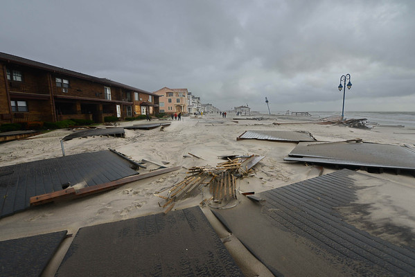 Belmar Boardwalk - October 30, 21012