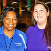 These nice ladies managed the event at the Berglund Center.