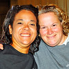 Jessica, event coordinator. Lisa, director of Angels of Assisi.