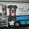 Tours were given at the Angels of Assisi rescue truck.