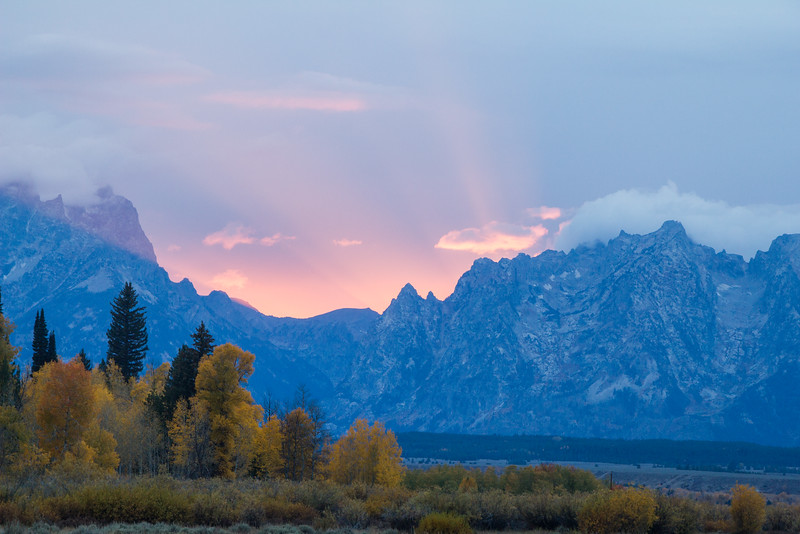 """Magic Time"" in the Tetons"