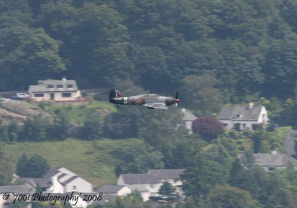 PZ865/'JX' (BBMF) Hurricane IIC - 26th July 2008.