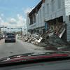 Downtown Wauchula, FL after Hurricane Charlie, 08/18/04