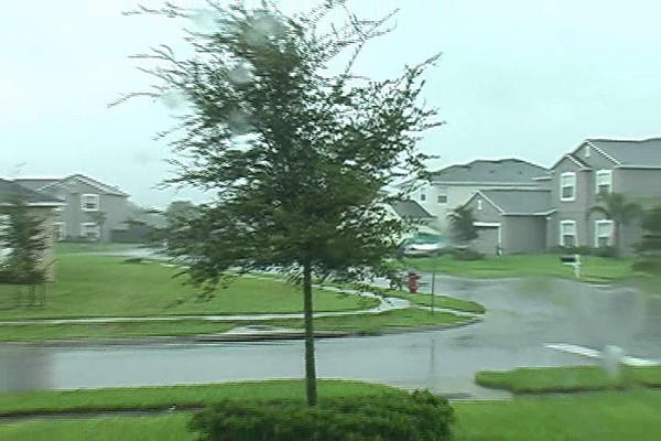 Hurricane Frances  09/05/04 @ 1105 hrs