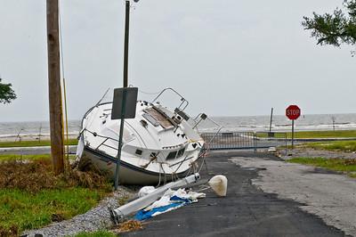 Placed here courtesy of Hurricane Gustav.