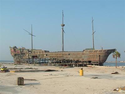 What's left of Treasure Bay Casino
