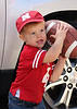 Owen Beach of Omaha on his 1st B Day and first husker game IMG_1538