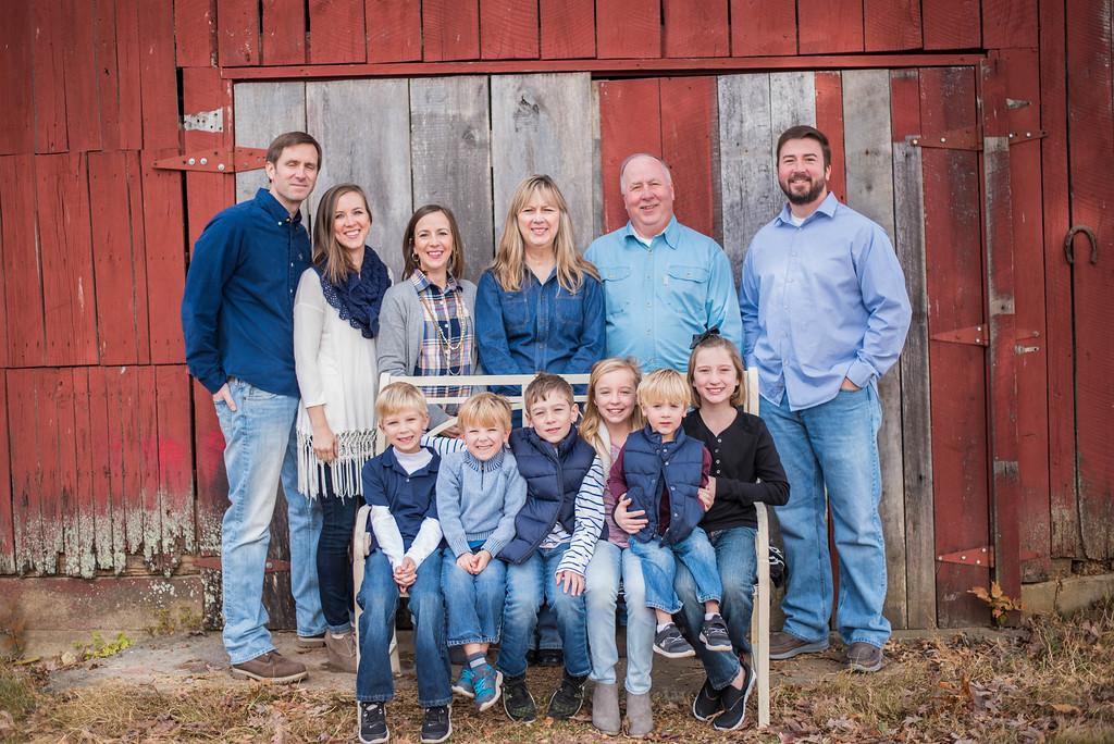 Hutcheson Family: Fall 2016