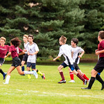 Hutson's soccer game in Berthoud, CO on Saturday, September 26, 2020.