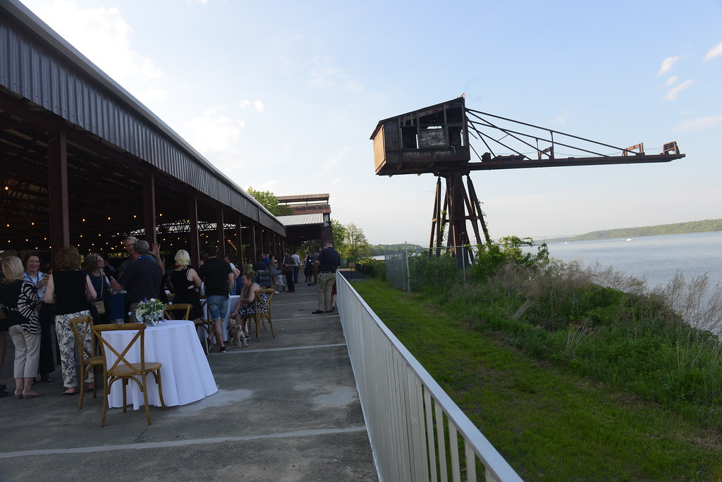 . A reception at the Hutton Brickyards was held on May 18, 2017, to introduce the venue. Daily Freeman photo by Tania Barricklo