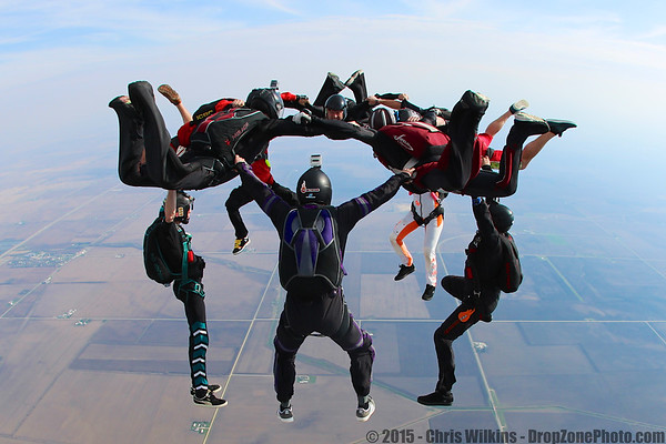 Amanda Kubik's 500th Skydive