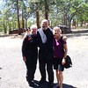 With an old friend from my days in Bradenton, FL -- Bev Barron Froemming.  Kathy-Ray-Bev. Tygh Valley, Oregon.