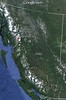 Stewart is approximately 800 road miles north of US/BC border