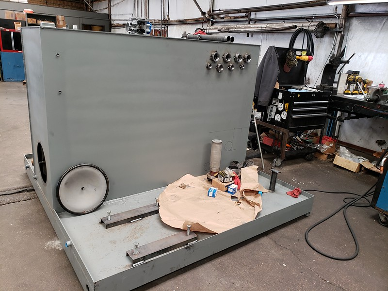 Customer Equipment in process of assembly
