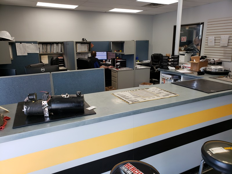 Customer Service/Sales area - Main Building (Adjacent to retail area)