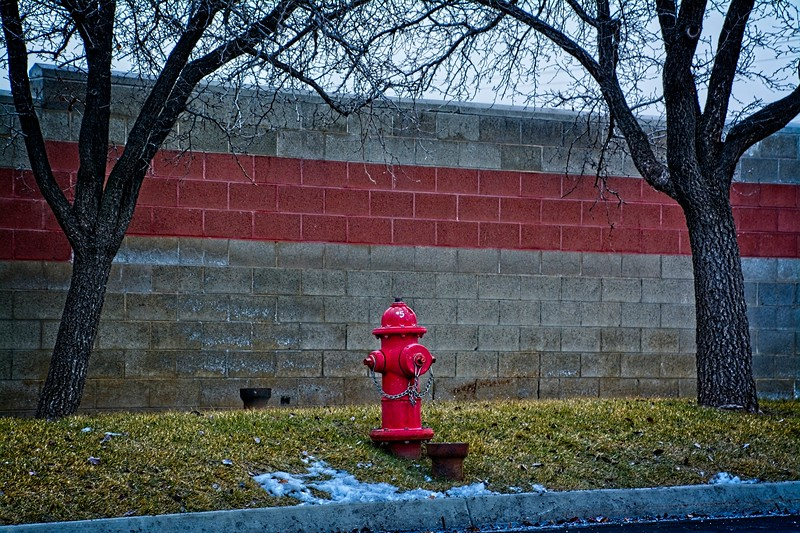Behind the Granger Medical Clinic in West Valley City, Utah