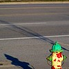 Look both ways before crossing little fire hydrant!