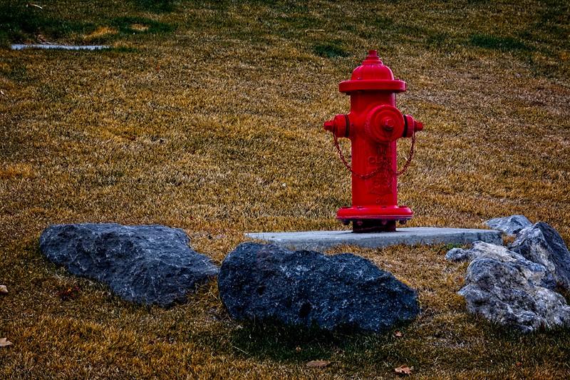 Up on a pedestal in South Jordan, Utah