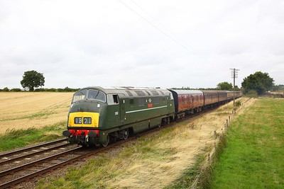 D832 passes Woodthorpe on the Great Central Railway working an ERMPS Photo charter on the 10th September 2018