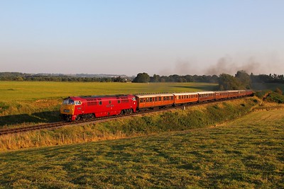 D1015 on the 1611 Kidderminster to Bridgnorth at Eardington on the 2nd October 2015 1