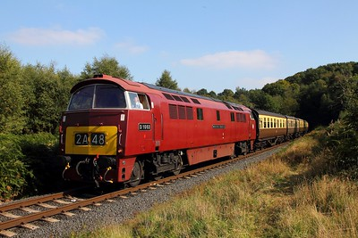 D1062 on the 1237 Kidderminster to Bewdley at Foley Park on the 2nd October 2015