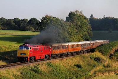 D1015 on the 1611 Kidderminster to Bridgnorth at Eardington on the 2nd October 2015