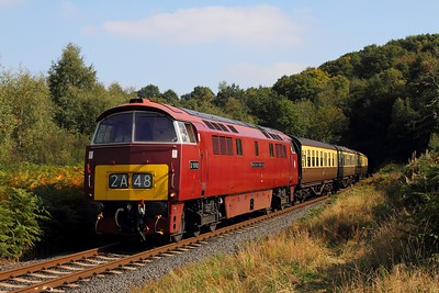 D1062 on the 1237 Kidderminster to Bewdley at Foley Park on the 2nd October 2015 1