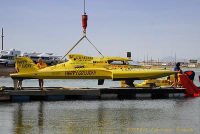 Firebird International Raceway 2009 ... Launching UL 1 Happy Go Lucky, Hopp Racing