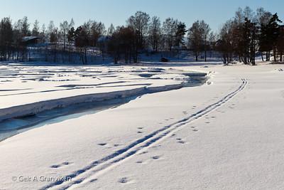 Vinter på Gjerdal og Hernestangen
