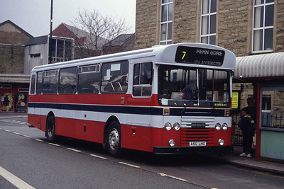 Hyndburn 50 Accrington Bus Stn Mar 94