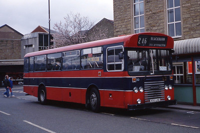 Hyndburn 50 Accrington Bus Stn Apr 91