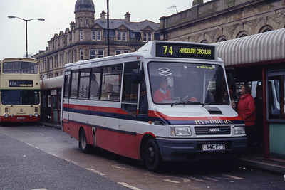 Hyndburn 22 Accrington Bus Stn Mar 94